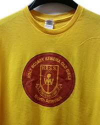 T-SHIRT WITH SCHOOL LOGO WITH INSCRIPTION FRONT AND BACK USED FOR REUNION NIGHTS